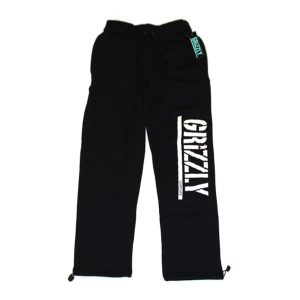 GRIZZLY-STAMP-SWEATPANTS-BLACK