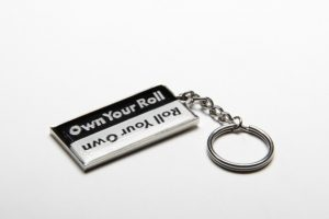 ROLL YOUR OWN KEYCHAIN
