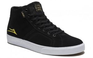 FLACO HIGH BLACKGOLD SUEDE